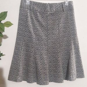 Dresses & Skirts - Susan Bristol Skirt 12.  Black white print